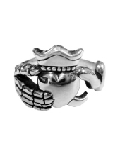 Pirates Claddagh Ring