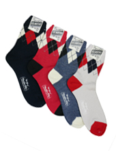 Short Argyle Sox