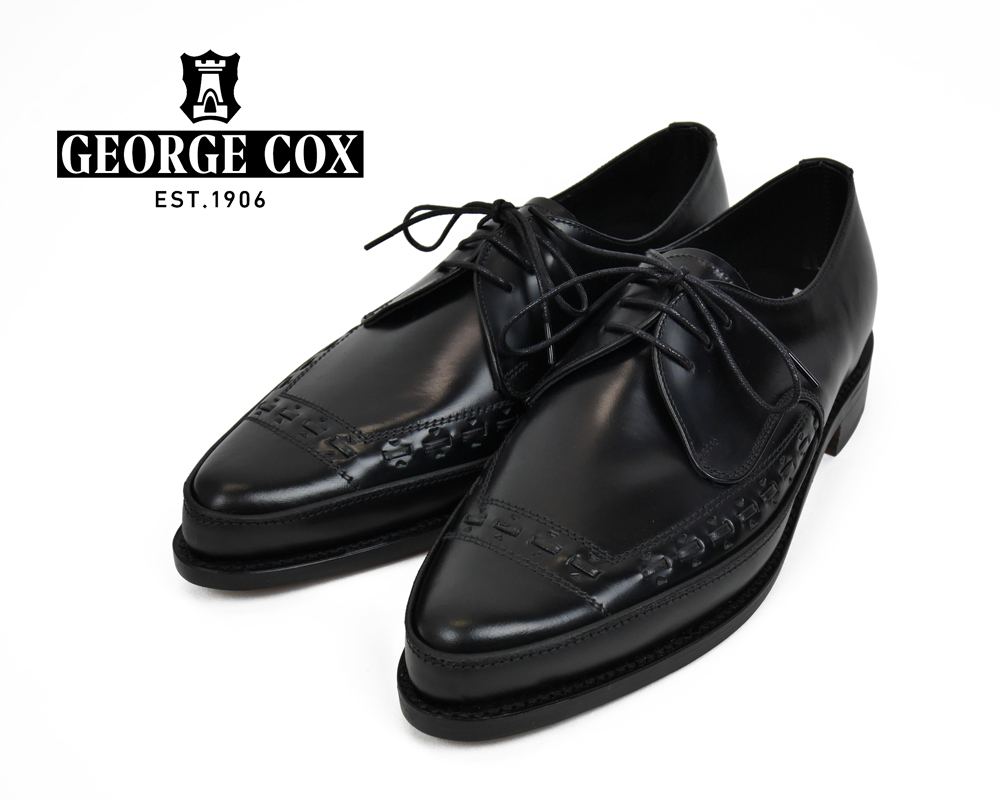 GEORGE COX 4142 GIBSON Lace Up Polecat With Leather Soleメインイメージ