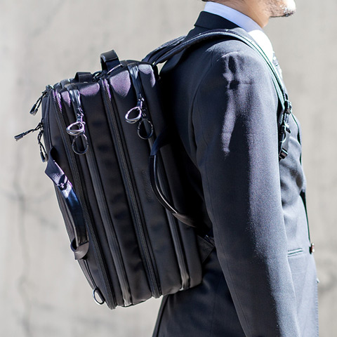 brf-UC04-HD Urban Commuter 2×3 WAY BRIEF PACK HDメインイメージ