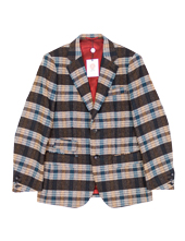 Plaid Tweed JKT