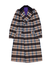 Plaid Tweed Coat