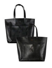 Tassel Leather Tote