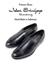 Jalan Sriwijaya 98973 slip-on CALF BLACK DAINITE