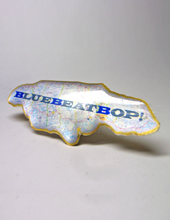 BLUE BEAT PINS