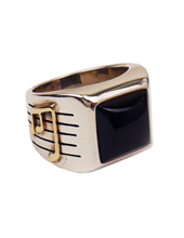 Onyx Cross Ring