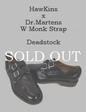 [Deadstock] Hawkins x Dr.Martens W Monk Shoes