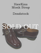 [Deadstock] Hawkins x Dr.Martens Monk Shoes