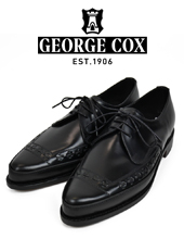 GEORGE COX 4142 GIBSON Lace Up Polecat With Leather Sole