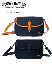 WONDER BAGGAGE GOODMANS FLAP SHOULDER BAG