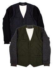 Detachable Sleeve Blouson