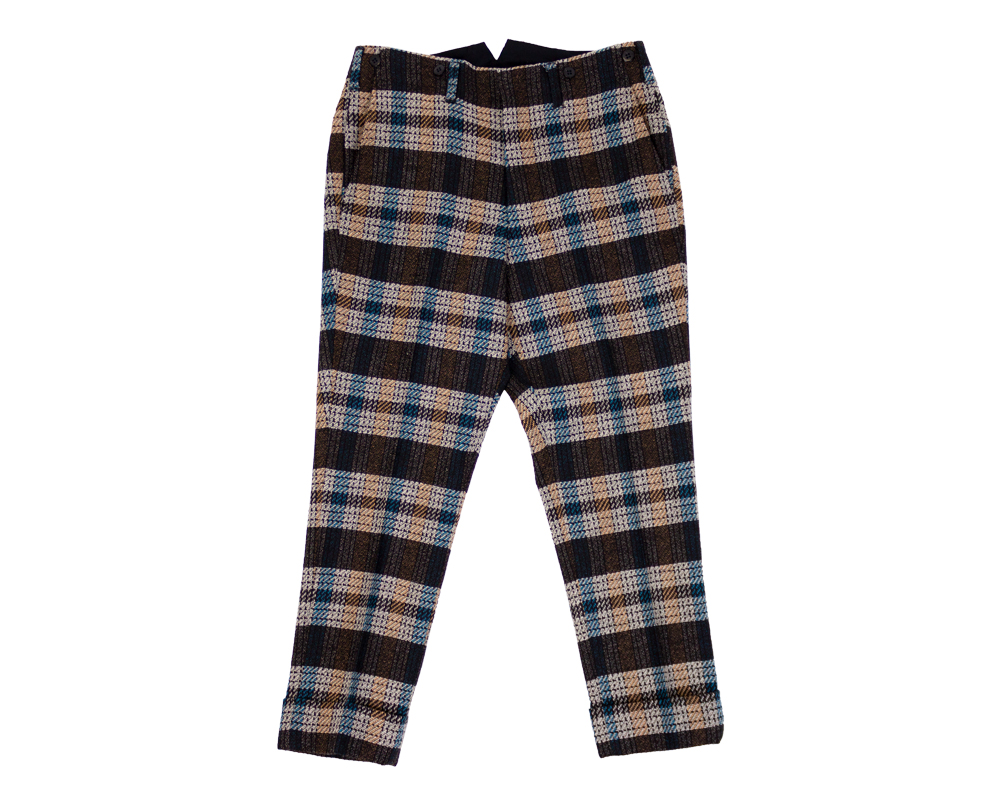 Plaid Tweed Croppedメインイメージ