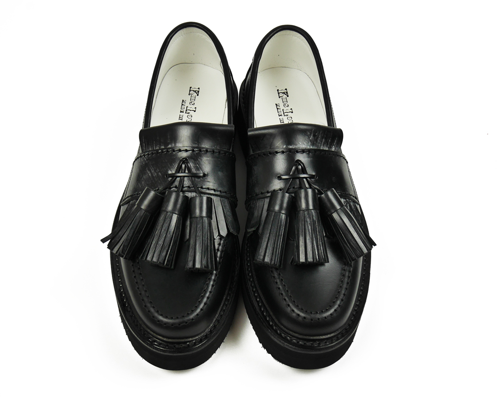 KIDS LOVE GAITE BRIDLE LEATHER Tassel Loaferメインイメージ