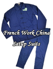 French Work China SetUp Suits