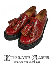 KIDS LOVE GAITE CROCO Tassel Loafer